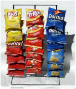 Potato Chip Display Racks